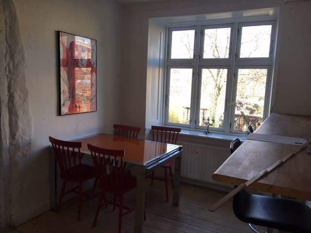 lyst 9 m² kontor / atelier/ værksted på Istegade