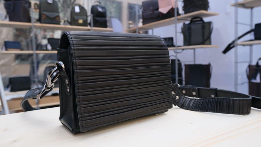 Kreativ værksted / studio / atelier for a leather bag designer