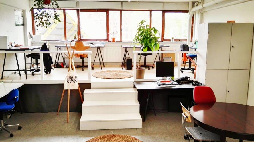 Kreativt kontorfælleskab på Nørrebro