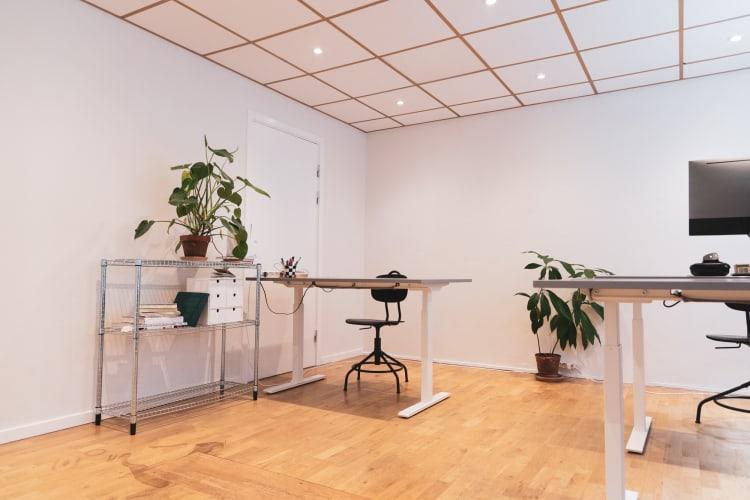 Fast kreativ kontorplads i hjertet af Nørrebro