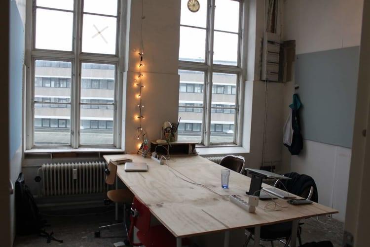 Herligt lille kontorfællesskab!