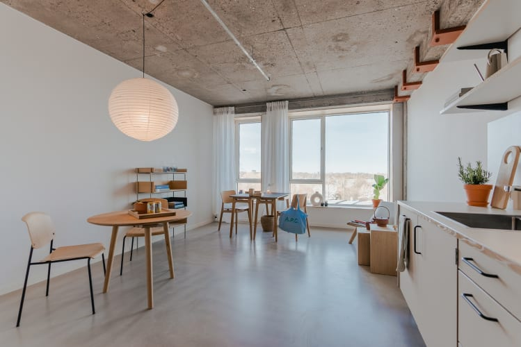 Eget kontor i kreativt hus for iværksættere
