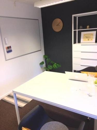 Privat kontor deltid i hjertet af københavn