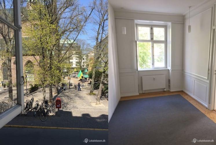 Lille kontor på Nikolaj Plads udlejes