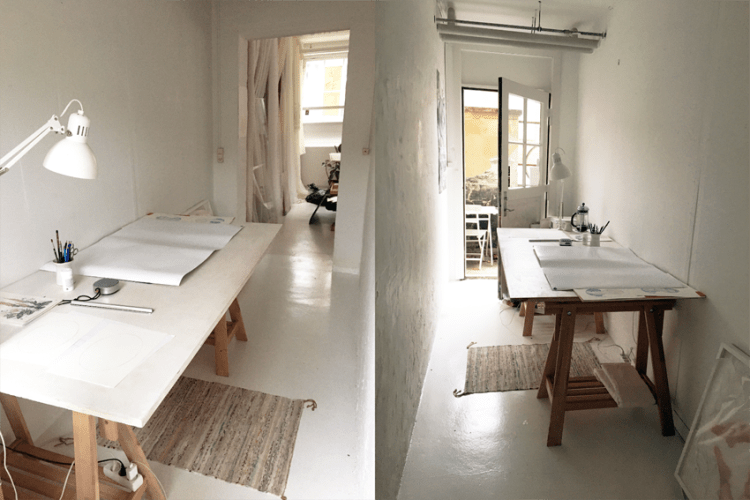 Room for two weeks in a collective in Amager