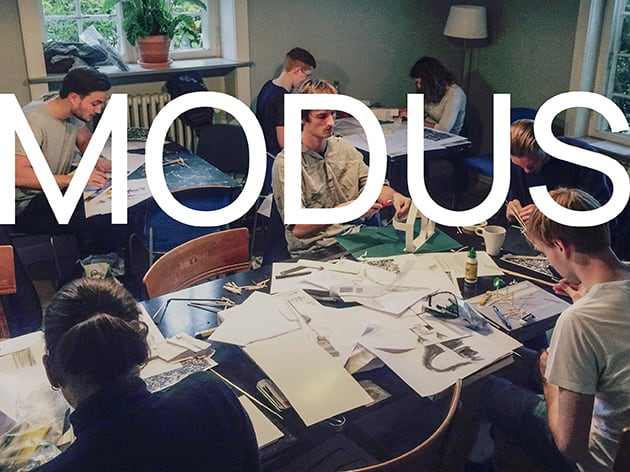 Forberedende kursus til optagelse på arkitekt-og designskolerne