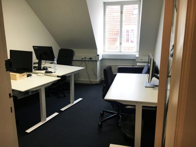 Private kontorer til 1-6 personer lige ved Rådhuspladsen