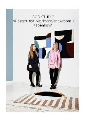 Röd Studio søger nyt værksted/showroom i KBH