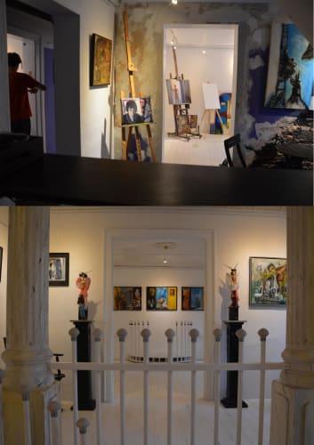 Atelier/Galleri - Malere & Keramikere