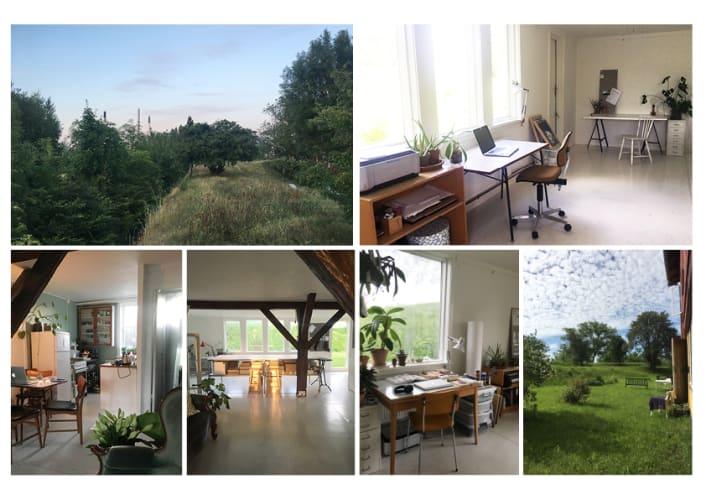 Natur skønne atelier/ kontor plads KBH K.