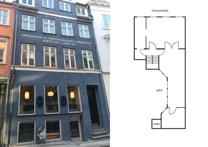 Hyggeligt kontorfællesskab i indre København