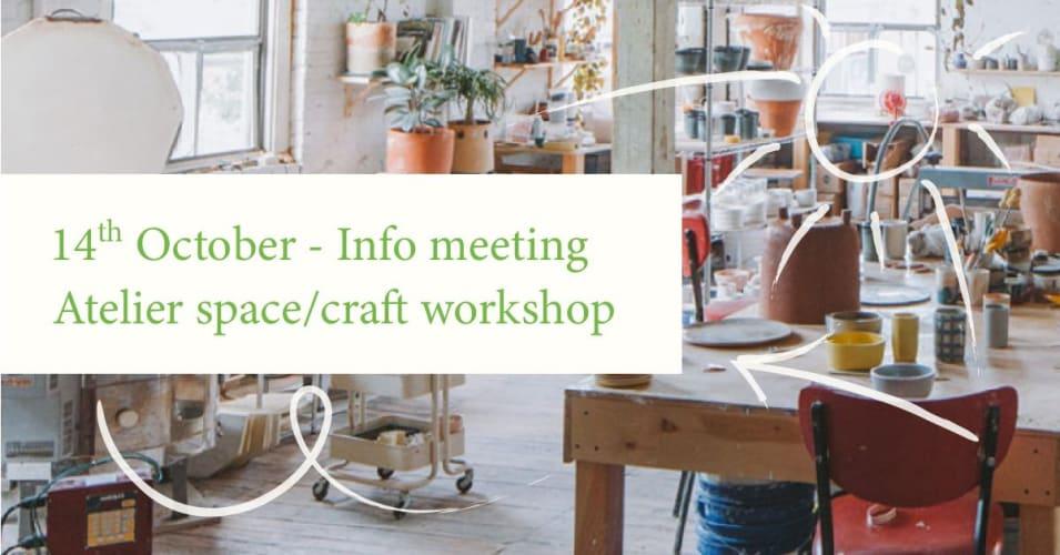 Info-møde Atelier- og værkstedsfællesskab hos Skrå Cph