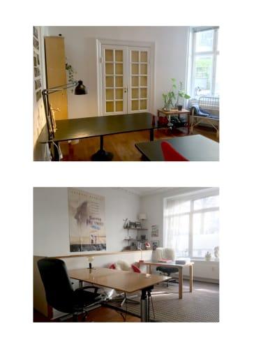 Modent og hjemligt kontorfællesskab på Indre Østerbro