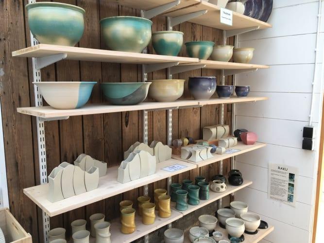 Værkstedsplads til keramiker