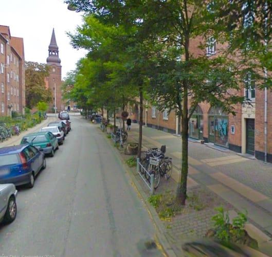 Hyggelig kontorplads på indre Nørrebro