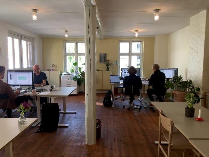 Skrå CPH /Lyst og kreativt arbejdsfællesskab i baggårdsfabrik på kanten af Nørrebro og Frederiksberg
