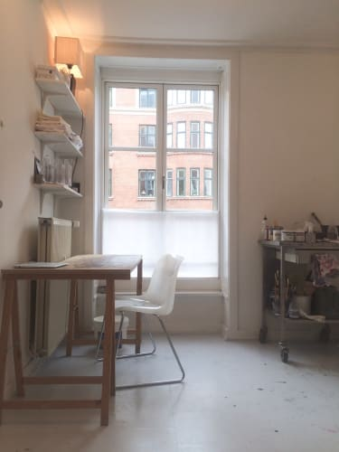 Lyst kontor / Atelier på Gammel Kongevej