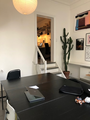 1 ledige plads i Atelier Ahorn – Professionelt, velfungerende og rart atelier/kontor