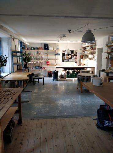 Keramikværksted tæt på Frederiksberg have