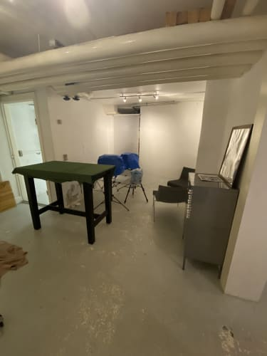 Smukt atelier I indre by