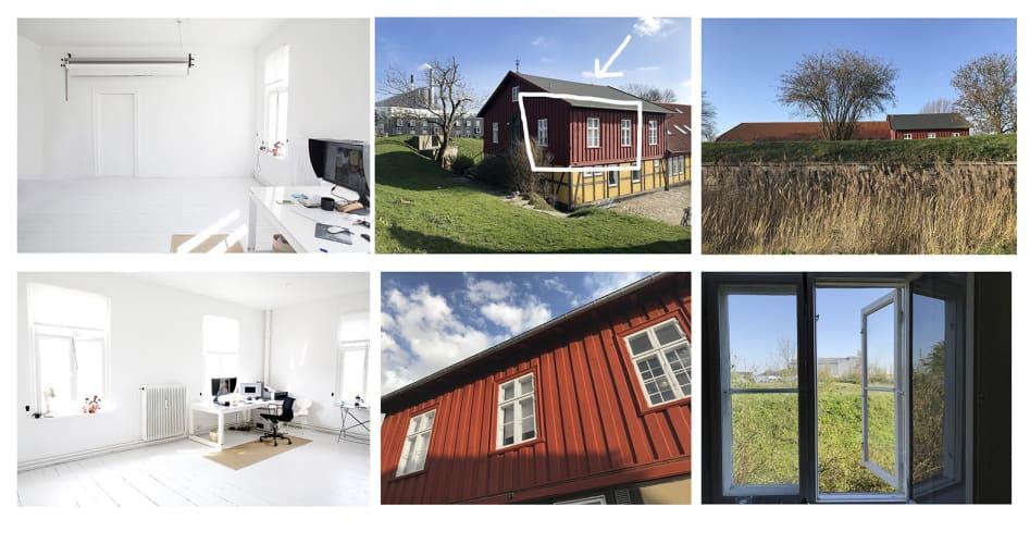 Plads i studie/kontor på Refshalevej