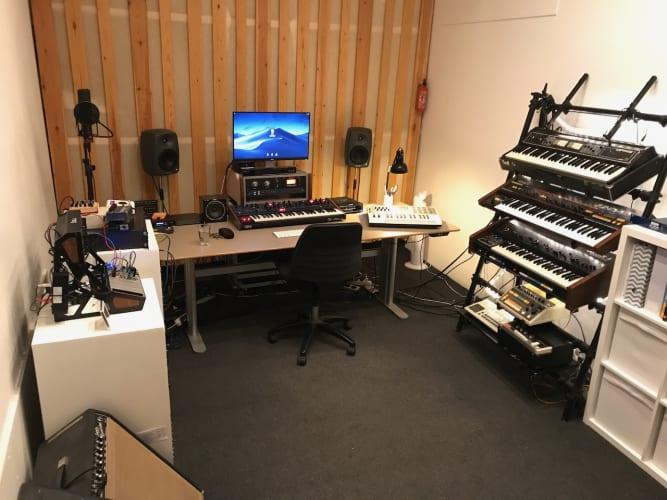 Studieplads ledig til musiker/producer