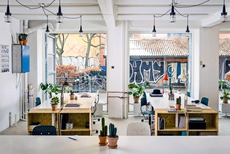 Kreativt og lyst arbejdsfællesskab i hjertet af Nørrebro