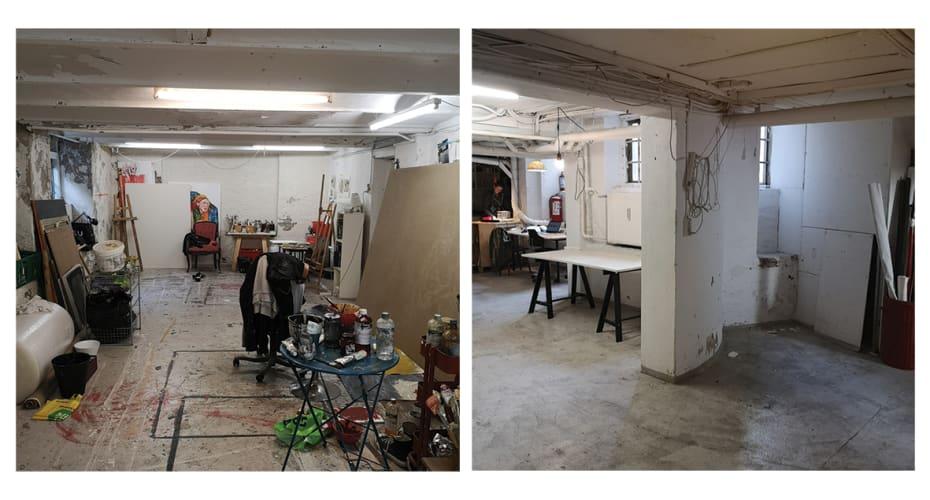 Creative workspace at STUDIO 38 (Forum station area)