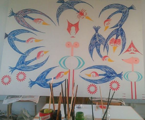 Er der nogle der har lyst, til fælles kunstmaler atelier her i KBH Nord Vest.
