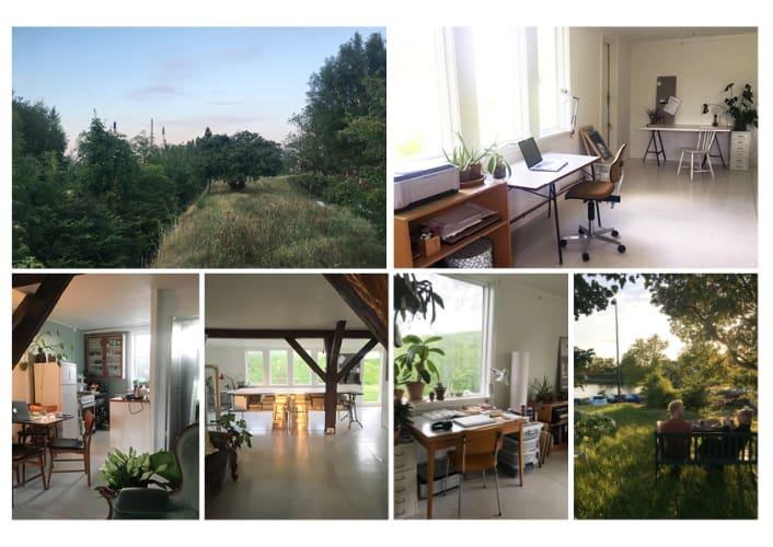 Naturskøn Kontor/ atelier plads i KBH K