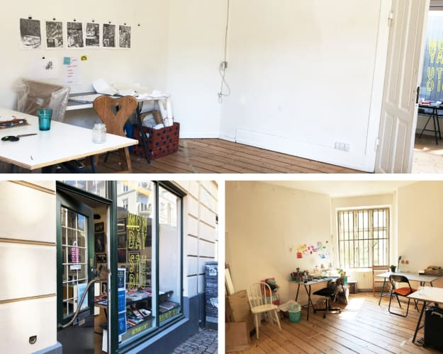 Kontor / Atelier I Monday Studio, Vesterbro