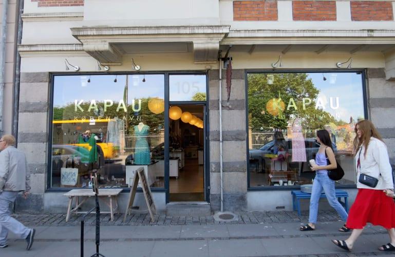 Ledig plads i design butikken KAPAU København