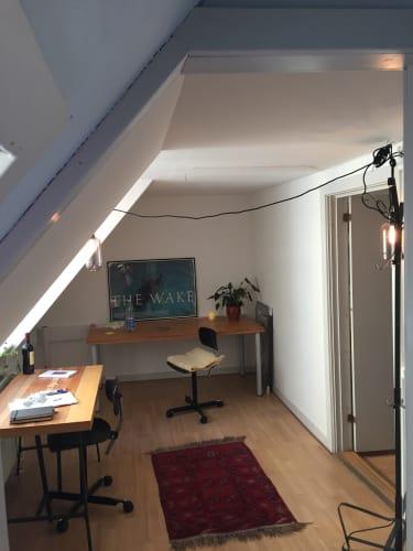 Kontor 12 m2 ( kan rumme 1-2 Pers)