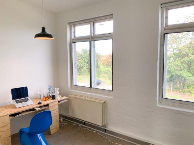 værksted / kontor i kreativt arbejdsfællesskab