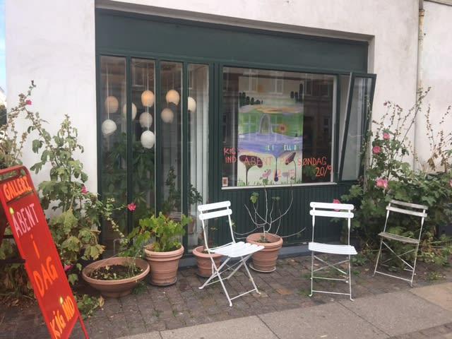 Gallerirum til pop-up udstillinger i Willemoesgade
