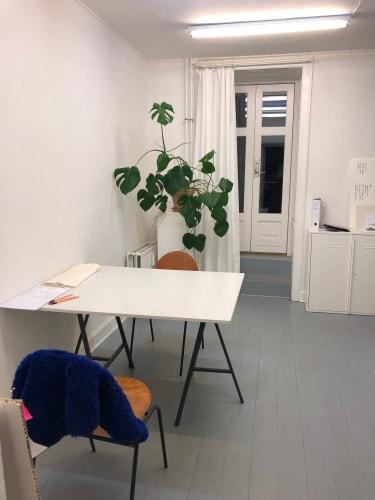 2 room studio/atelier on Nørrebro