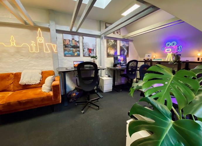 Lækkert kontor ved Rådhuspladsen