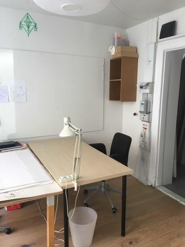 Kontorplads udlejes 1. 4. 2021 på Østerbro