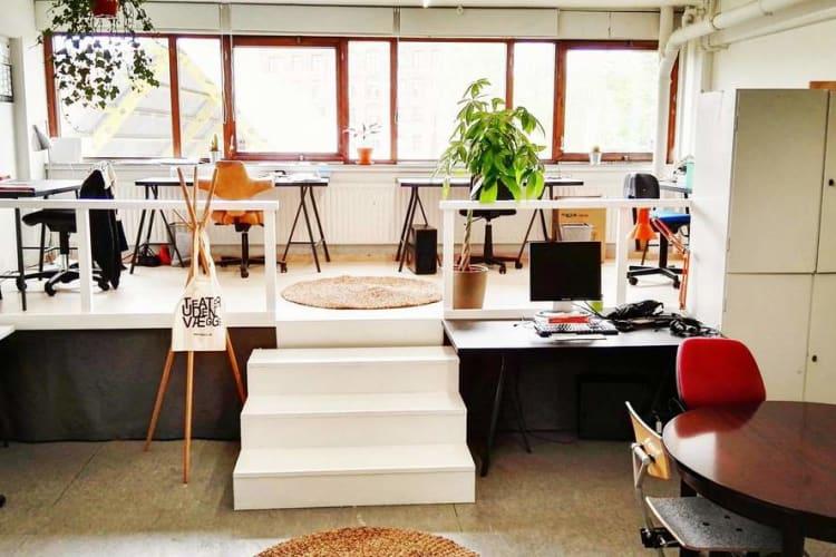 Digitalt kontorfællesskab midt på Nørrebro (fast plads)