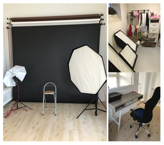 Fotostudio for rent close to Lyngby