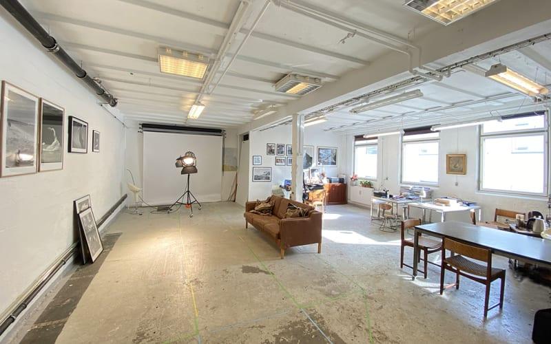 Ledig atelier plads midt i Vesterbro
