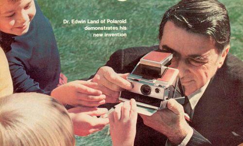 Edwin Land dan Kamera Polaroid Penemuannya (IPHF)