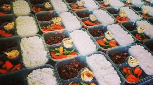 Catering, usaha sampingan ibu rumah tangga (instagram zhen kitchen mlg)