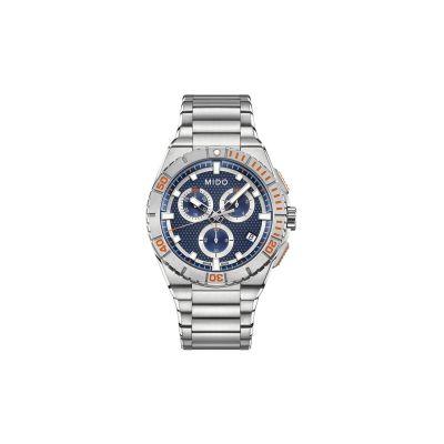 Relógio Masculino Mido Ocean Star Captain Cronógrafo - M0234171104100
