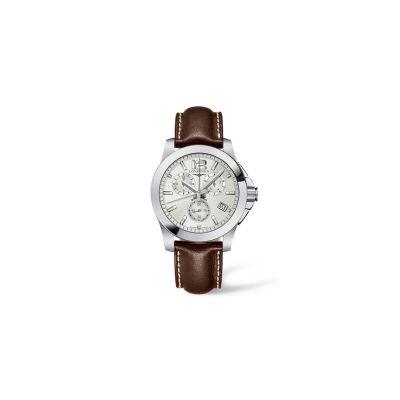 Relógio Masculino Longines Conquest Cronógrafo - L36604765