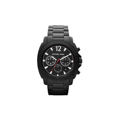 Relógio Masculino Michael Kors Mercer Black Cronógrafo - MK8282-Z
