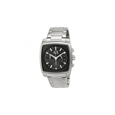 relógio de pulso pulseira de aço masculino