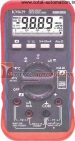 KM 629 DIGITAL MULTIMETER WITH HARMONICS INDEX MEASUREMENT-KUSAM MECO