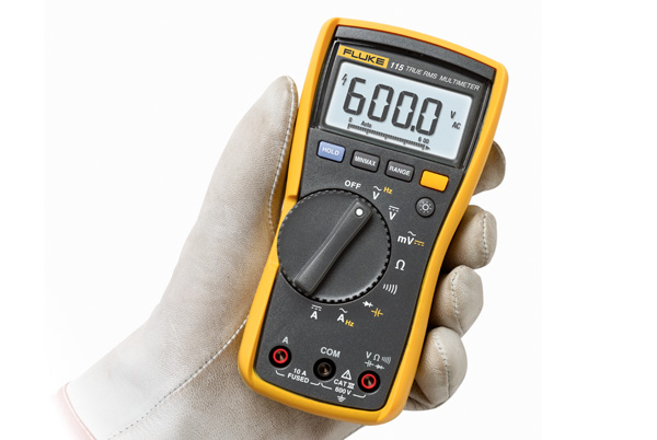 Fluke Capacitor Meter : Fluke digital multimeter v yr warranty fast