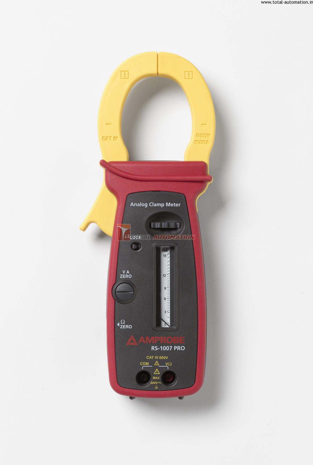 Analog Clamp Meter : Analog clamp meter rs amprobe